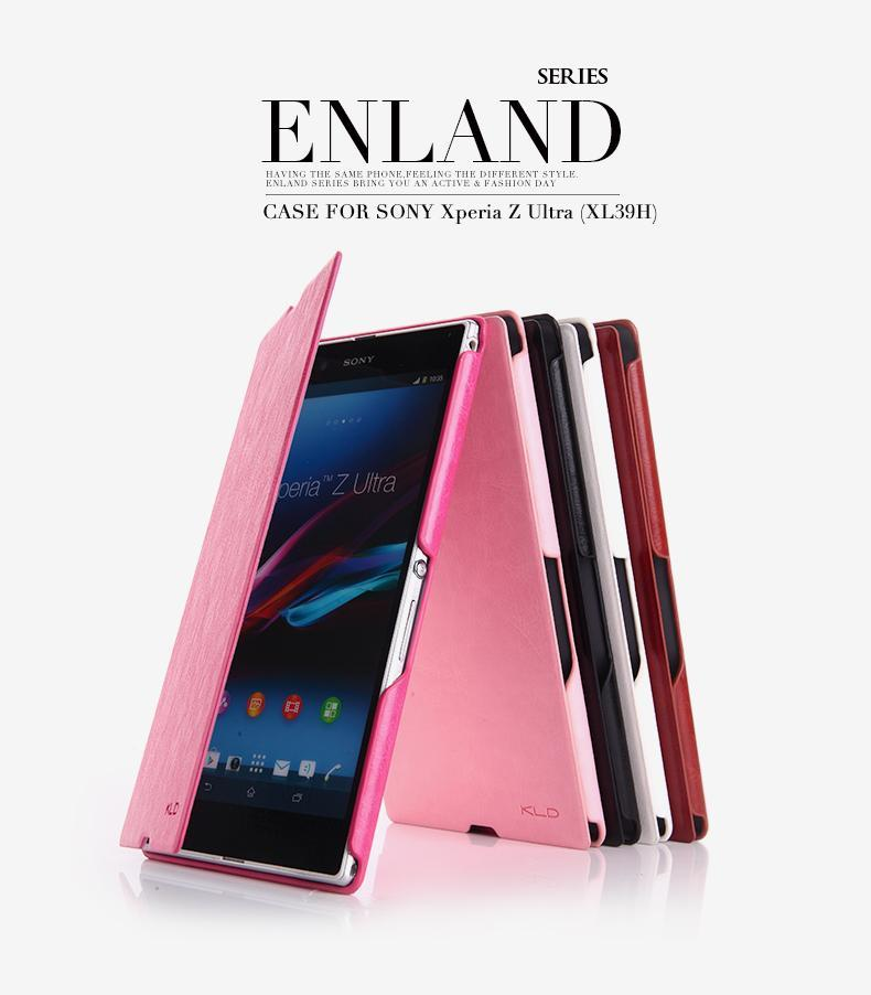 KLD Sony Xperia Z Ultra XL39H Flip Case Cover Casing + Free Gifts