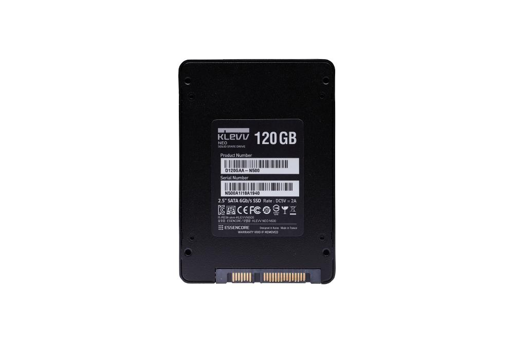 KLEVV NEO N500 120GB TLC 2.5' SOLID STATE DRIVE