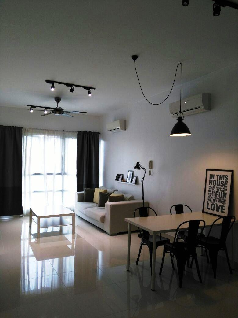 KM1 West Condo for sale, Fully Furnished, 2 Car Parks, Bukit Jalil