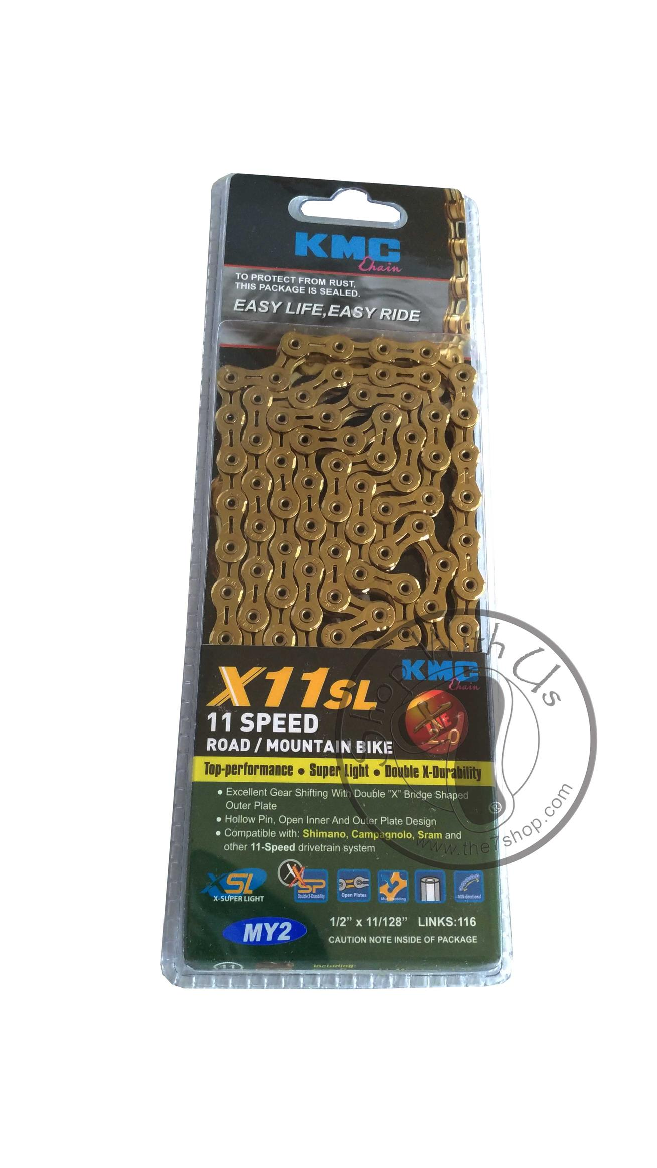 KMC X11SL ROAD/MOUNTAIN BIKE Chain
