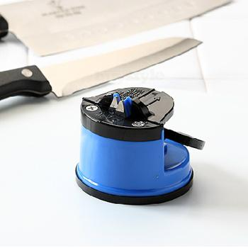 Knife Sharpener with Suction Pad