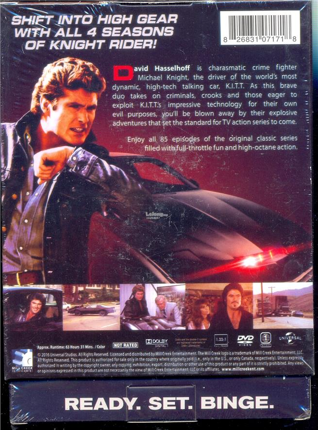 Knight Rider - The Complete Series - New DVD Box Set