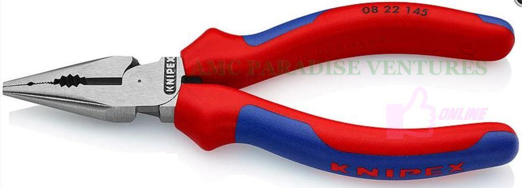 Knipex 08 22 145 Needle-Nose Combination Pliers