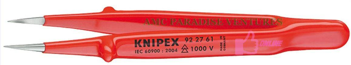 Knipex 92 27 61 Precision Tweezers (insulated)