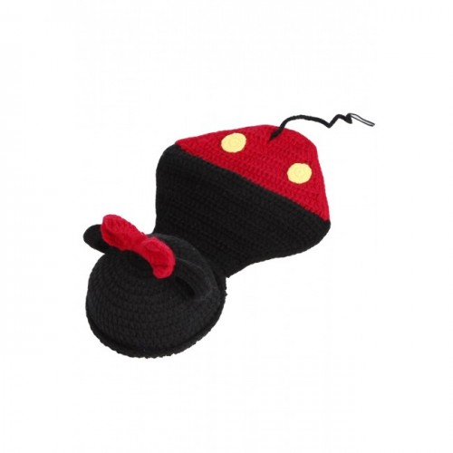 Knitted Wool Baby Minnie Mouse Hat End 9152019 409 Pm