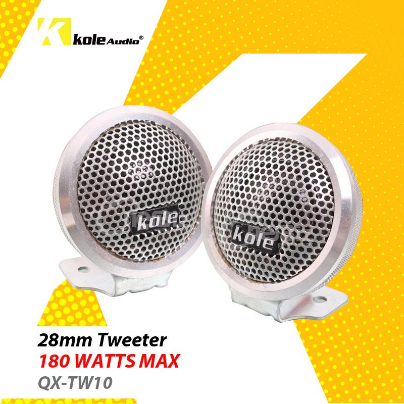 Kole Audio - 28mm Tweeter 180W - QX-TW10