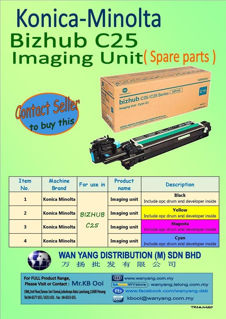 Konica Minolta Bizhub C25 Imaging Unit( Spare parts )