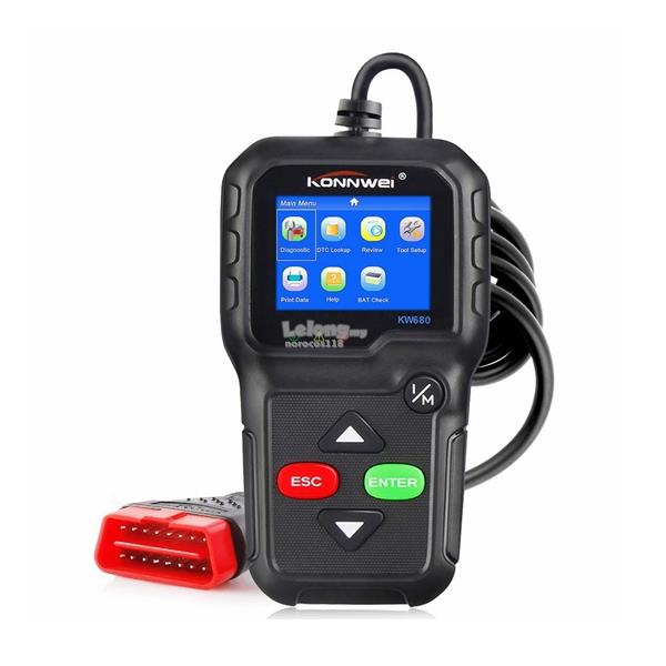 KONNWEI KW680 Engine Fault Code Reader Diagnostic OBD Scan Tool