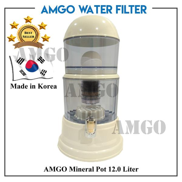 [Made in KOREA] AMGO 12L Mineral Pot Water Dispenser 12 Litre