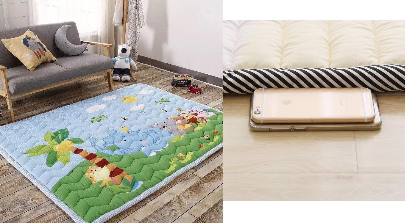 (KOREA) Animal Hide & Seek Kids Thick Mat (Selimut Tebal Bayi Budak) R