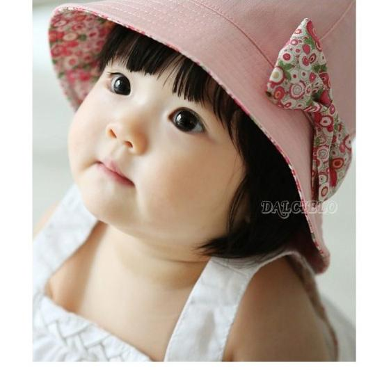 6c4af49387c KOREA FASHION BABY GIRL PINKISH CAP (BOTH SIDE OF THE CAP CAN BE USED)