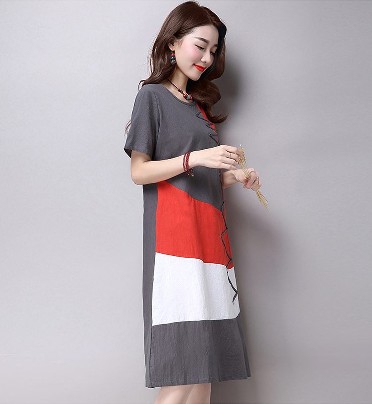 Korea Fashion Dress Grey Size M End 7 5 2020 10 49 Am