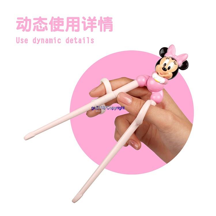 Korea Import Disney Infant Baby Training Practice Learning Chopsticks