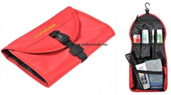 Korea Japan Multifunctional Storage Clutch Bags Wash Bag 2795-Red