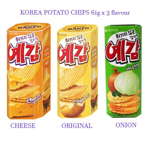 Korea Orion Baked Potato Chips Snack End 3 19 2018 4 15 Pm