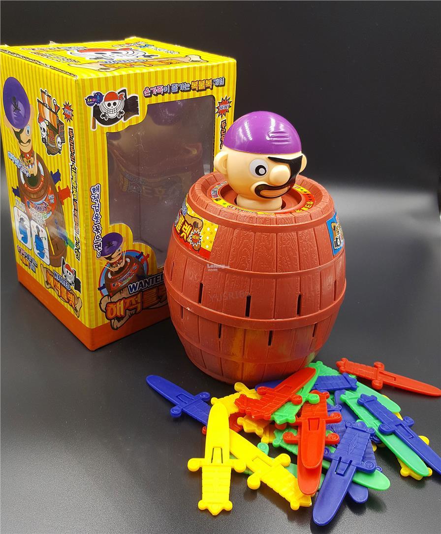 Pirate Roulette Barrels Running Man Korean Games Daftar Harga Mainan Barrel King Big Size Game Korea Pop Up Toy Kids Xl