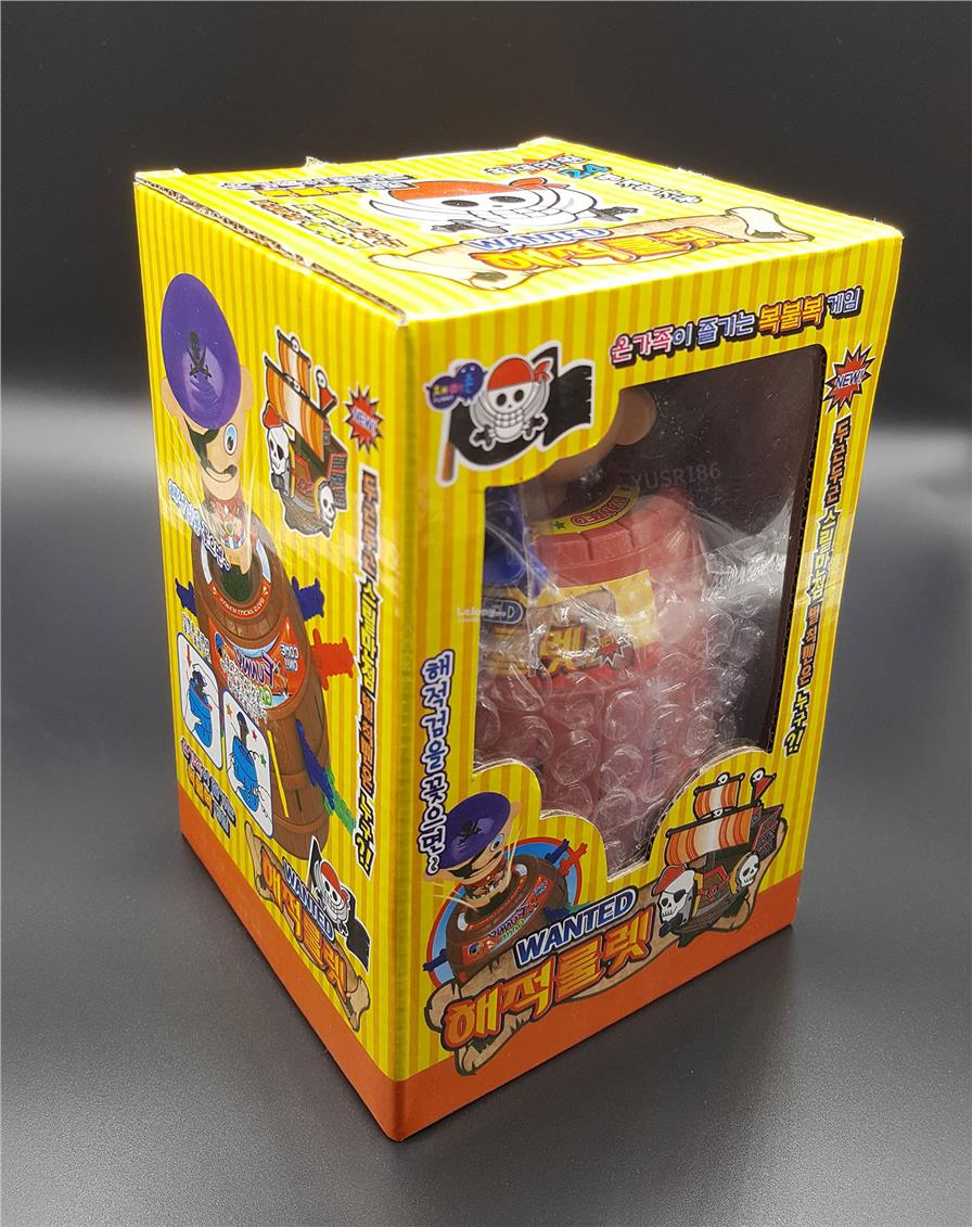 King Pirate Roulette Game Lucky Daftar Harga Terbaru Dan Mainan Barrel Big Size Running Man Black Beard Games Source Korea