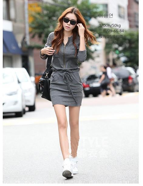 Korea Style Sporty Wear Grey Sy5 End 7 1 2019 12 00 Am