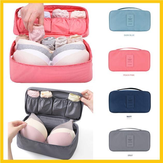 f91de6d59910 Korea Stylish Travel Bra Underwaer Bag Pouch and Baby Pampers Storage