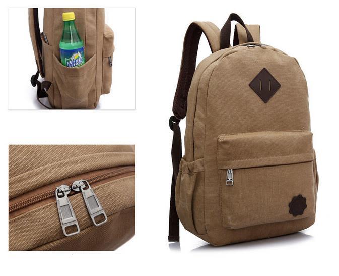 3d3af988f4ce Korean Backpacks Korean Men bag New Style Korean Canvas Backpack. ‹ ›