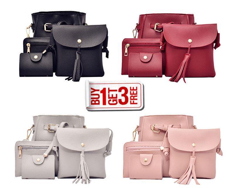 395738cb788 Korean Bag 4 in 1 Women Bags Korean (end 11 5 2019 12 15 PM)