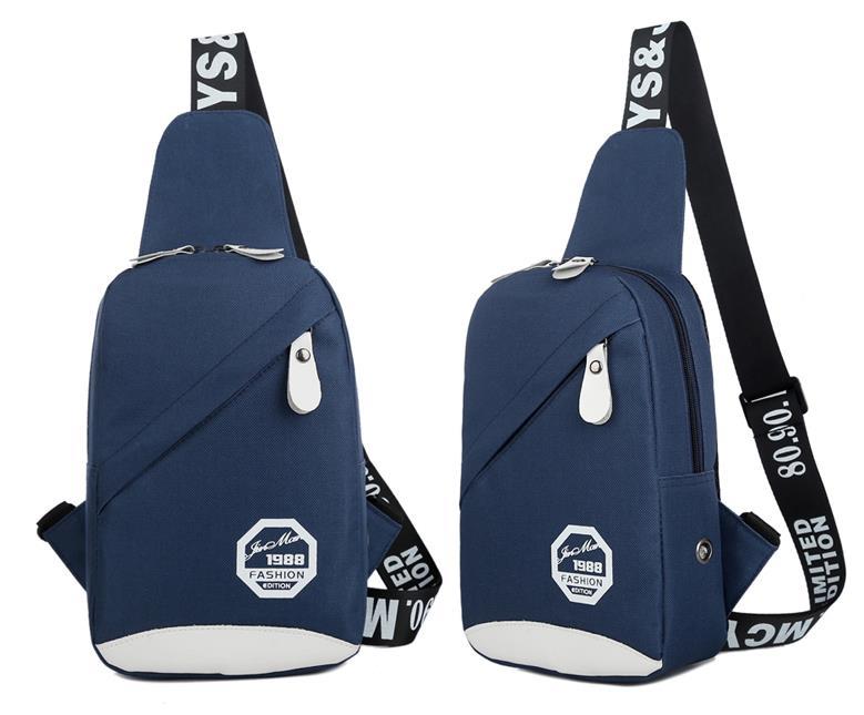 Korean Bag Men Or Women Outdoor Shoulder Hiking Chest Sling Ca