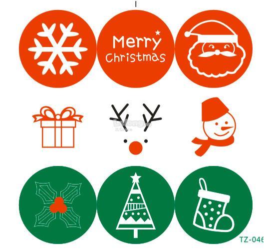 Korean Christmas Santa Sticker for (end 11/10/2018 5:47 PM)
