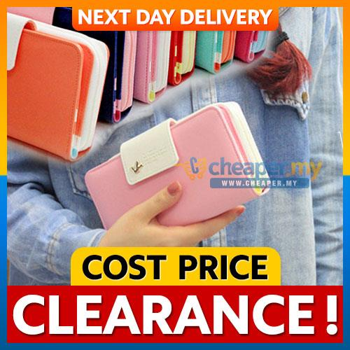 Korean Crown Donbook Smart Clutch Wallet Phone Pouch iPhone Samsung