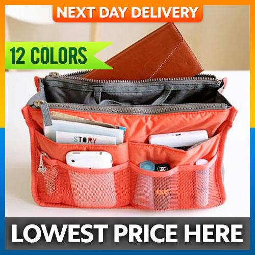 Korean Design Multi Purpose Organizer Storage Bag Handbag Purse Travel