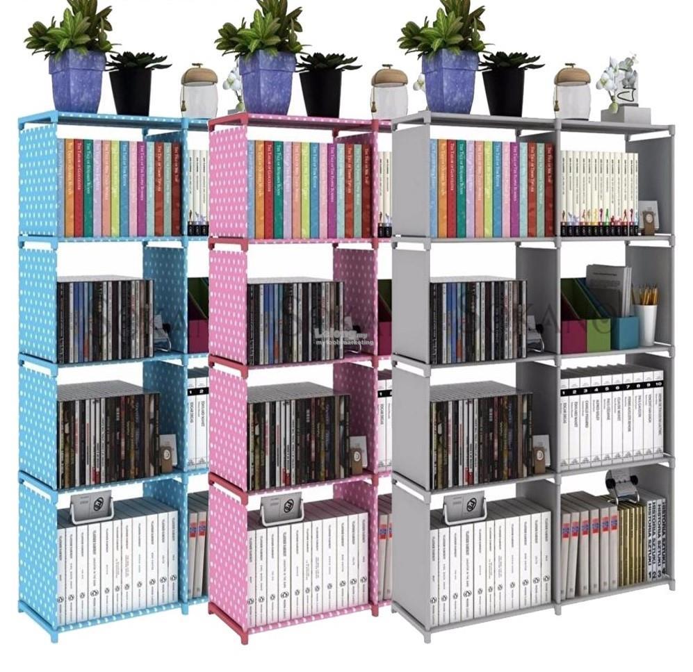 Korean DIY Book Storage 5 Tier with 8 Columns. u2039 u203a  sc 1 st  Lelong.my & Korean DIY Book Storage 5 Tier with (end 2/13/2019 8:15 PM)
