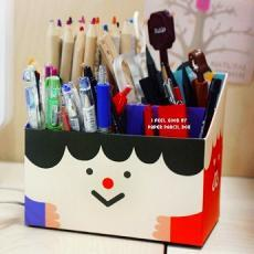 Korean~DIY Table Storage Box-Smile Face