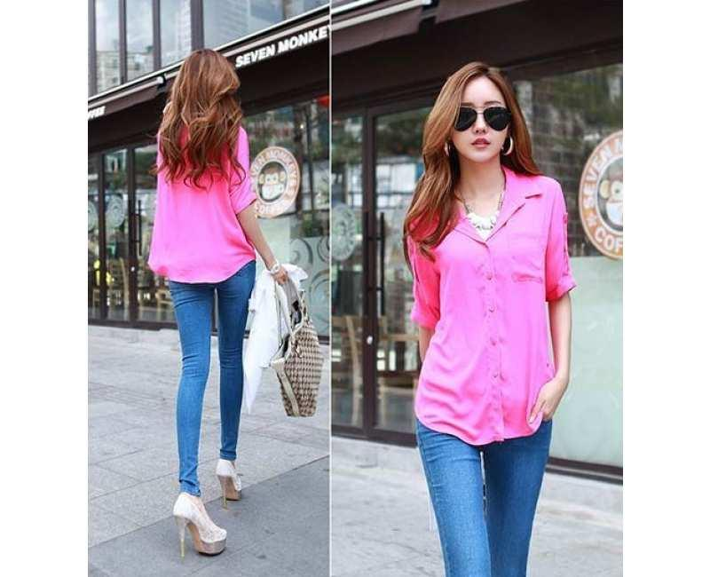 KOREAN FASHION - CRKD1458ROSE