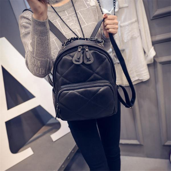 Korean Fashion Trend College Leisure Travel Backpack Small Bags Pre