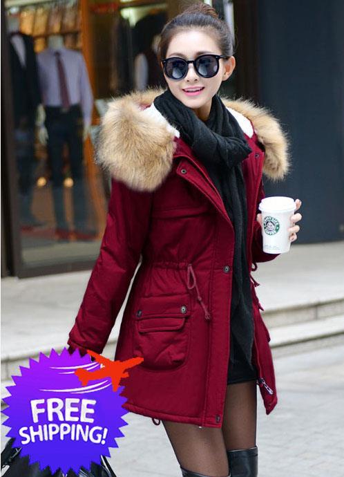 korean fashion women hooded winter end 11 8 2020 12 17 pm. Black Bedroom Furniture Sets. Home Design Ideas