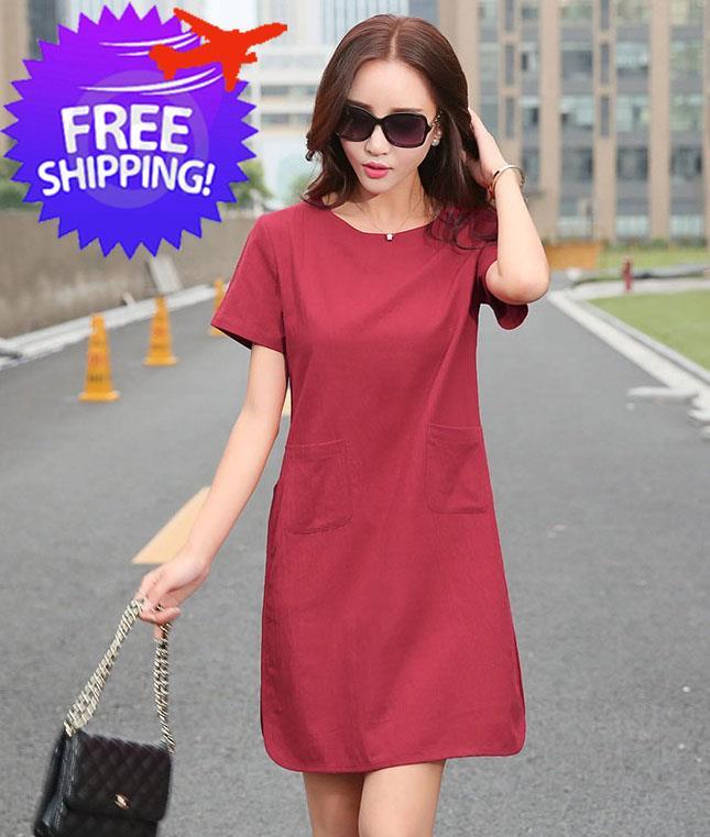 Korean Fashion Women Lady Short Sleev (end 3 2 2020 5 35 PM) 7db75e6fc9