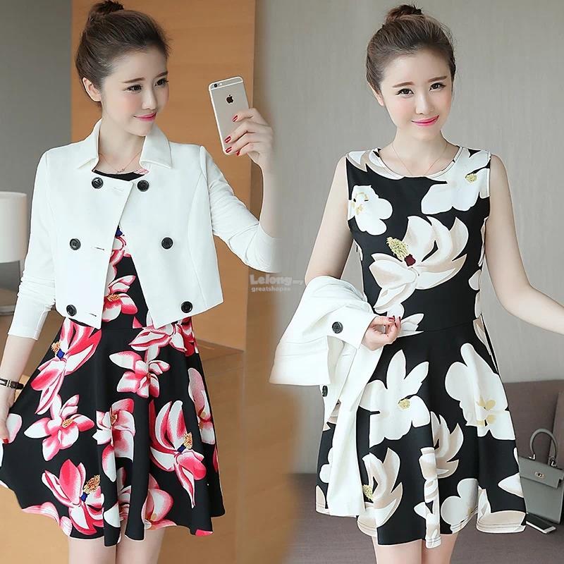 Korean Fashionable Slim Fit Floral End 11 20 2018 10 15 Pm