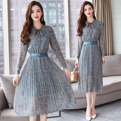 Korean Floral Chiffon Long Sleeve D End 1 28 2021 12 00 Am