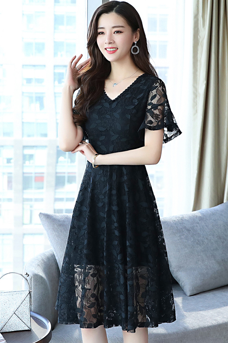Korean Floral Lace Bell Sleeve Dres End 1 21 2021 12 00 Am