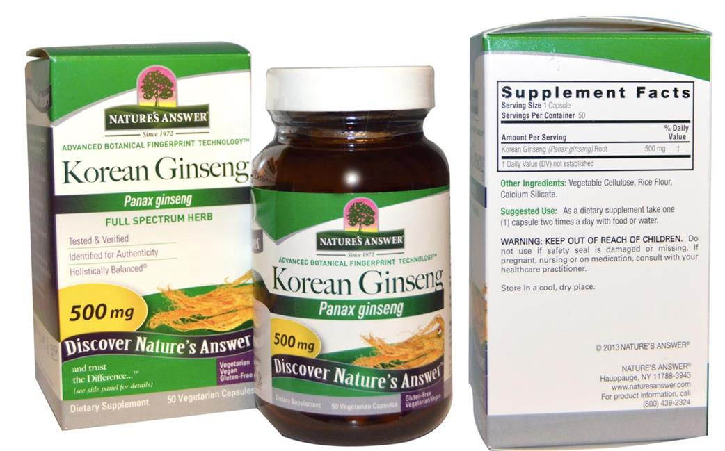 Ginseng and sexual health