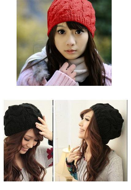 Korean Knitted Beanie Hat - 5 colors (end 7 1 2019 12 00 AM) 43a40605195