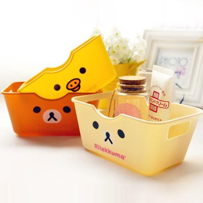 Korean Mini Rilakkuma Rectangular Storage Box