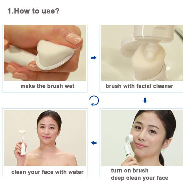 Korean Pobling Spa Beauty Care Face Massager Cleaner Exfoliator