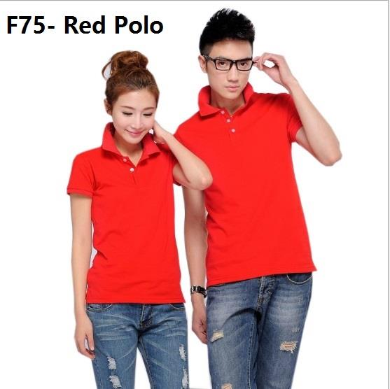 Korean Polo cloth clothing baju kurung melayu guy men t shirt red