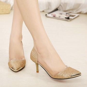 Korean Princess Women's Luxury Powder High-heeled [4247]
