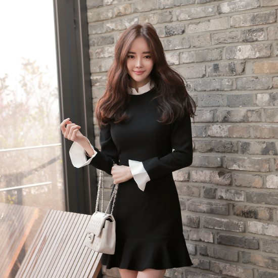 Korean Style Fashion Long Flounced Sl End 3 2 2020 4 35 Pm