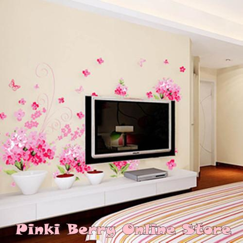 Korean Style Flower Home Decor Wall S end 562015 415 PM