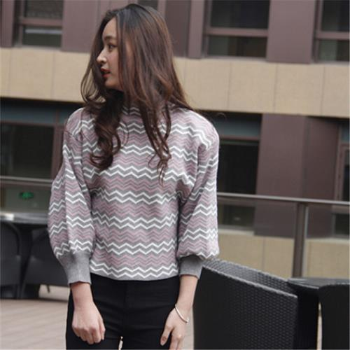 1039206d2 Korean Style Ladies Striped Sweater (end 9 23 2019 1 29 PM)