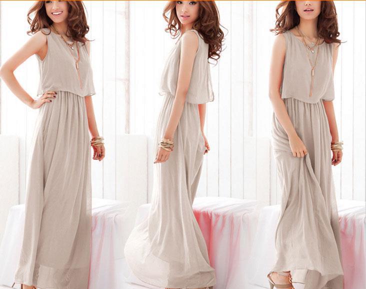 Korean Style Long Dress Self Collec End 6 10 2016 6 15 Pm