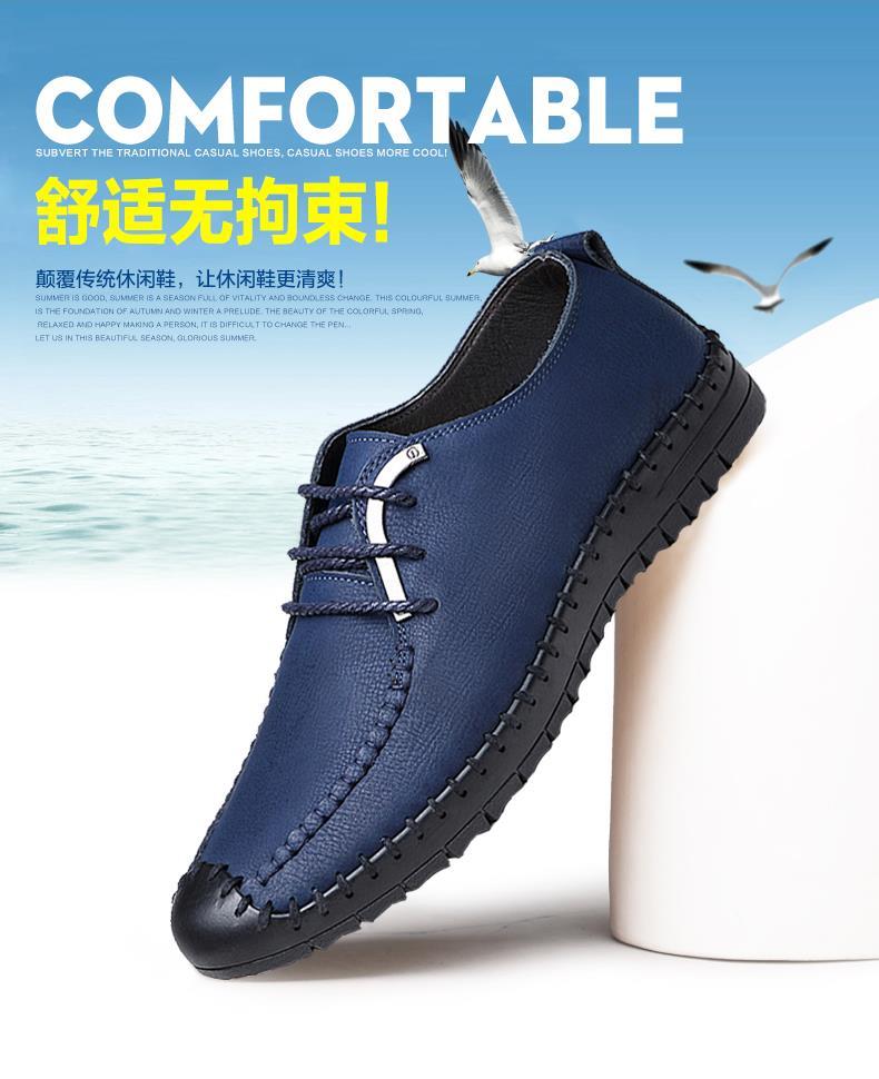4710b3b57718 New Korean style Men Fashion Real Cow leather Sport Formal Shoe