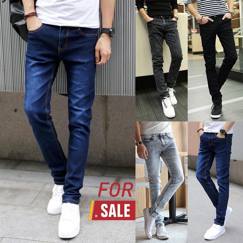 Korean Style Men 39 S Jeans Slim Fit Tr End 3 27 2018 4 15 Pm